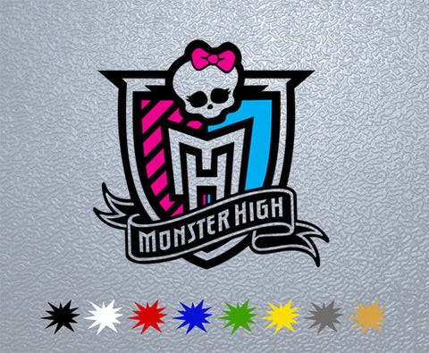 Monster High Personalized Sticker (x1)
