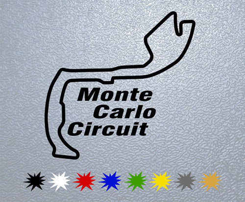 Monte Carlo Circuit Sticker
