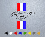 Mustang Logo Sticker