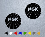 NGK Logo Sticker
