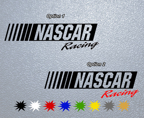 Nascar Racing Logo Sticker
