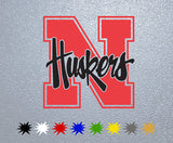 Nebraska Corn Huskers Sticker