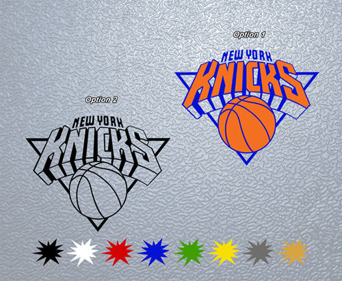 New York Knicks Logo Sticker