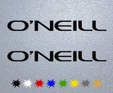 O'Neill Logo Sticker