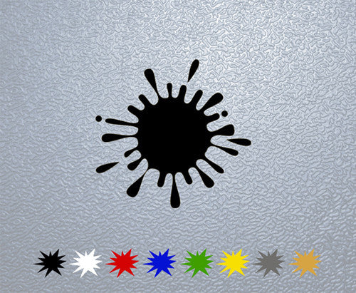 Paint Splash Sticker