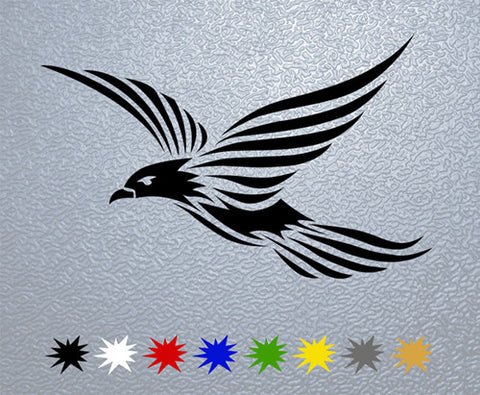 Tribal Bird Sticker (x1)