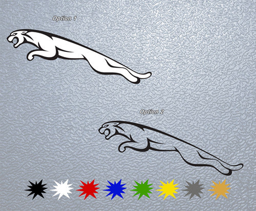 Jaguar Logo Sticker