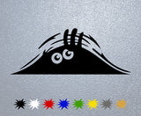 Peeking Monster Sticker