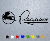 Pegaso Logo Sticker