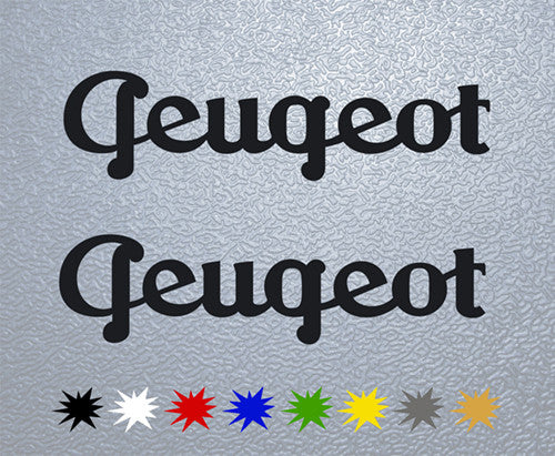 Peugeot Old Logo Sticker