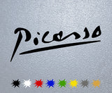 Picasso Signature Sticker
