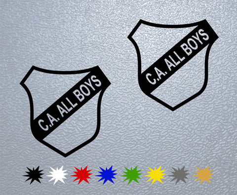 C.A. All Boys Sticker (x2)