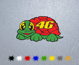 Valentino Rossi The Turtle 46 Sticker