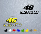 Valentino Rossi The Doctor 46 Sticker
