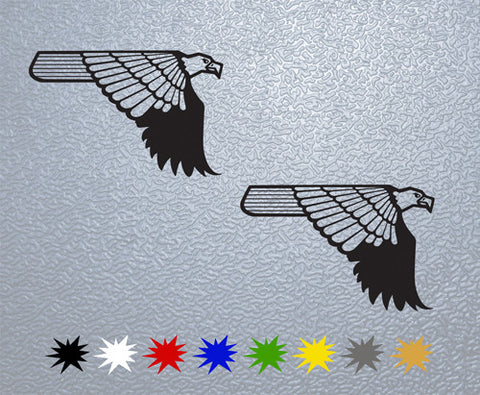 Eagle Desert Sticker (x2)