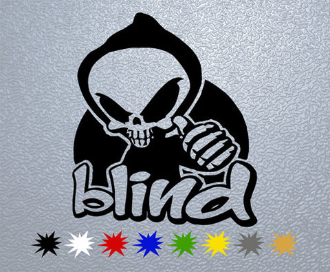 Blind Skateboards Sticker (x1)