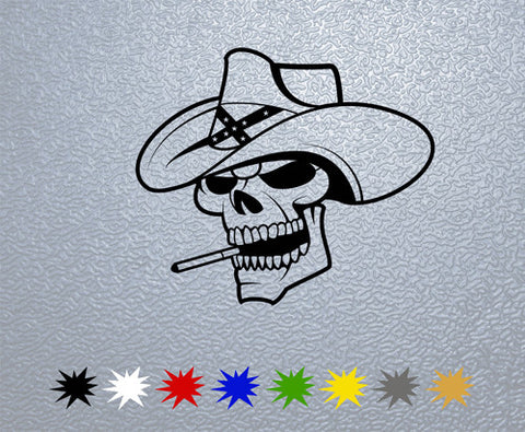 Skull Hat Sticker (x1)