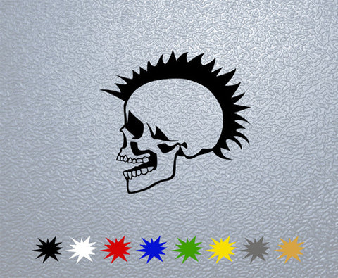 Punk Skull Sticker (x1)