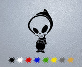 Blind Skull Sticker