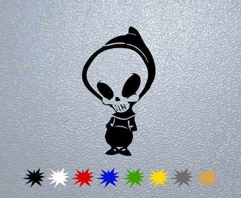 Blind Skull Sticker (x1)