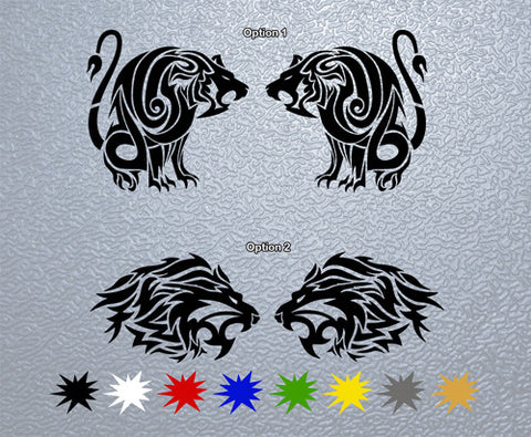 Lion Head Sticker (x1)