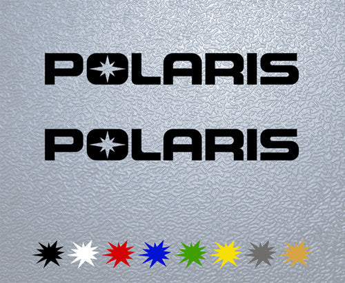 Polaris Logo Sticker