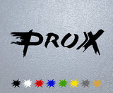 Pro-X Racing Logo Sticker