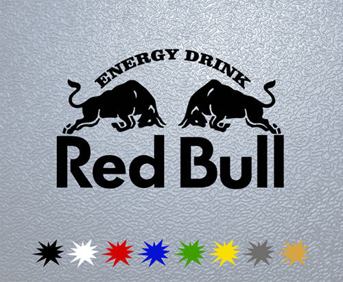 Red Bull Logo #1 Sticker