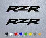 Polaris RZR Logo Sticker