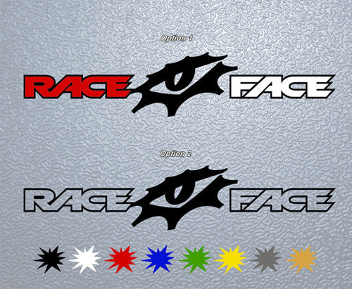 Race Face Logo Sticker