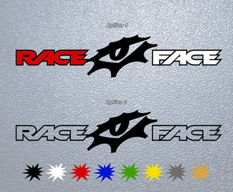 Race Face Sticker (x1)