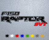 Ford F-150 Raptor Logo Sticker