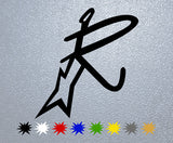 Rash Guitars Logo Sticker