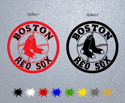 Boston Red Sox Sticker (x1)