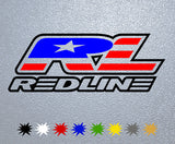 RedLine Logo Sticker