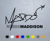 Robbie Maddison Signature Sticker