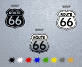 Route 66 Logo Sticker