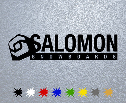 Salomon Snowboards Logo Sticker