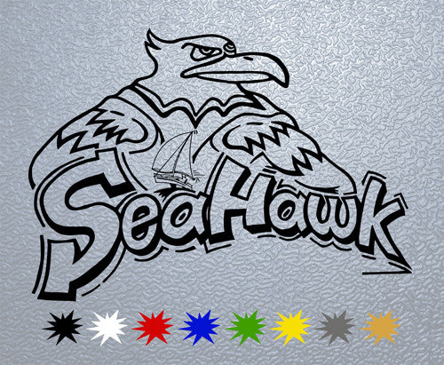 Sea Hawk Logo #1 Sticker