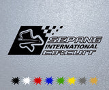 Sepang International Circuit Sticker