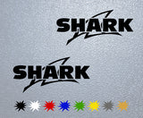 Shark Helmets Logo Sticker