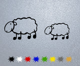 Sheep with Lamb Sticker