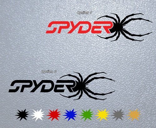Can Am Spyder Sticker