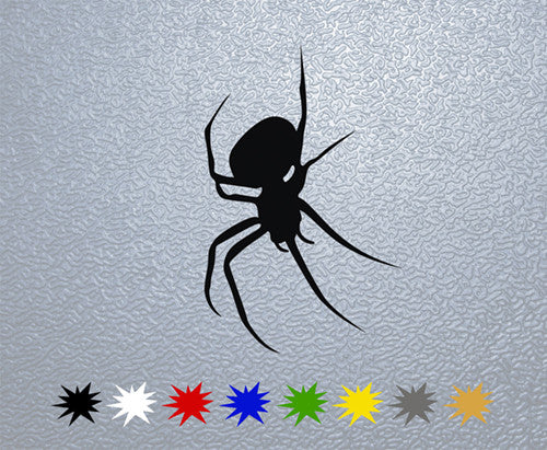 Spider Silhouette Sticker