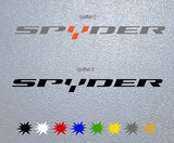 Spyder Logo Sticker