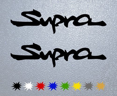 Supra Logo Sticker