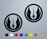 Symbol of Jedi Order, Star Wars Sticker
