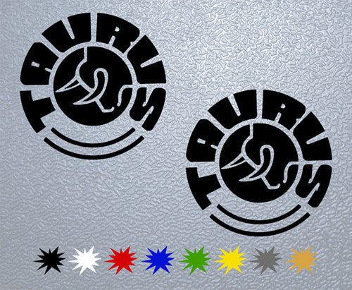 Taurus Logo Sticker