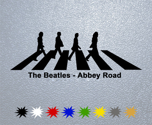 The Beatles AR Logo Sticker
