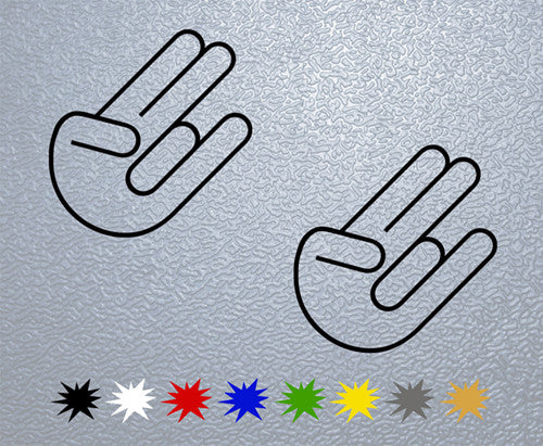 The Shocker Logo Sticker